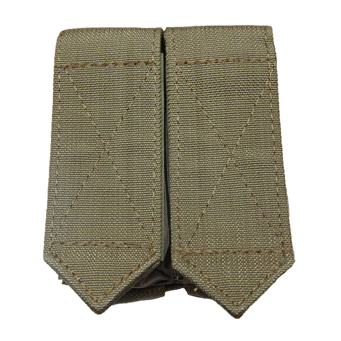 Vector pouch double SSO olive 1
